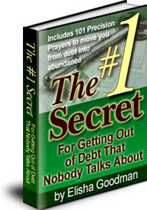 The #1 Secret - to get out of debt
